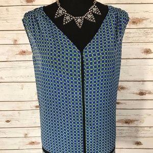 Liz Claiborne Woman Plus Size 2X Blue 2 piece set